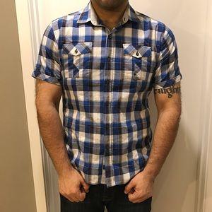 7 Diamonds Other - Men's 7 Diamonds button up shirt sleeve shirt.