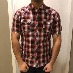 7 Diamonds Other - Men's 7 Diamonds short sleeve button up shirt.