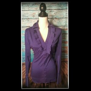 Express Design Studio Tops - Express - Beautiful Purple Blouse