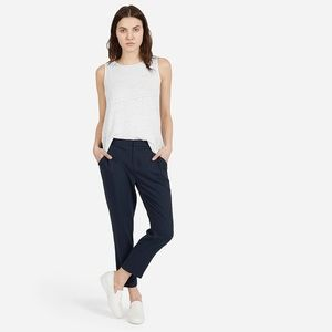 Everlane Pants - Great condition Everlane navy slouchy trousers