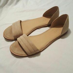 J. Crew Shoes - J. CREW HAYES SUEDE SANDALS