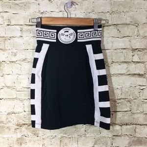 Lazy Oaf Dresses & Skirts - Lazy Oaf Stretch Mini Skirt Zipper Back