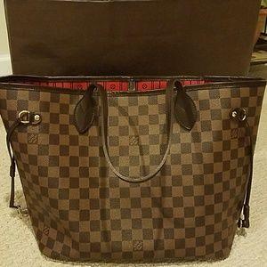 Louis Vuitton Handbags - 🎉HP🎉Louis Vuitton Neverfull MM Damier