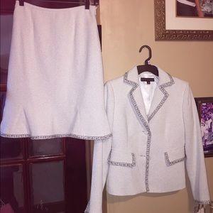 Nipon Boutique Other - Nipón Boutique 2pc Skirt & Blazer Set Org.$380