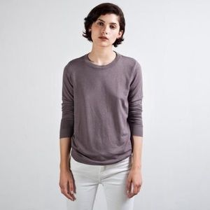 Everlane Sweaters - Everlane French terry sweater in mauve