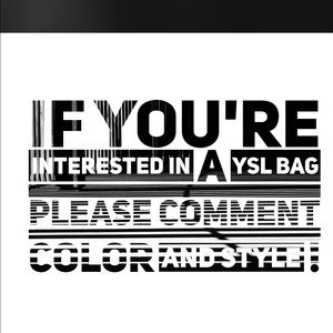 looking for a bag ?!