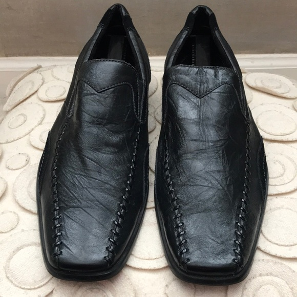 Stacy Adams Lukas Mens Black Leather