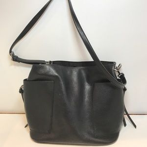 Steve Madden Handbags - Steve Madden Crossbody Vegan Bucket Bag