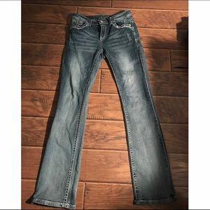 Grace Pants - Straight leg Grace jeans.  Sz 28