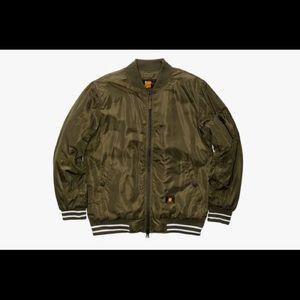 Undefeated Other - Undefeated vandal ma-1 jacket olive