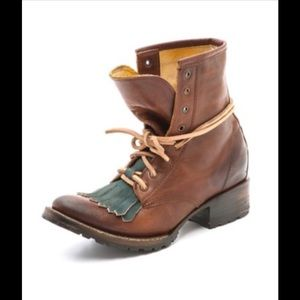 Steve Madden Shoes - Freebird by Steve boot  Robertson' Lace-Up RARE