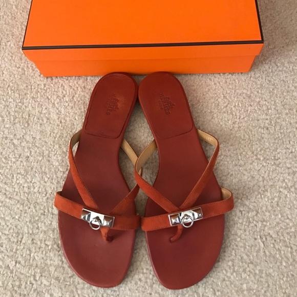 64d10f1bfcbd68 Hermes Shoes - Hermes Corfou sandal