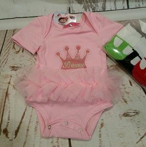 Popatu Other - Popatu Crown Princess Onezie 3-6 months
