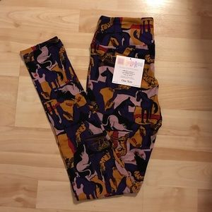 LuLaRoe Pants - NWT LuLaRoe Cat/Horse/Cheetah Leggings