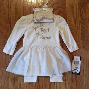 """Vitamins Baby Other - NEW """"Sparkle Perfect Picture"""" Set for Baby Girl"""