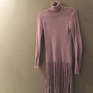 John Richmond Sweaters - John Richmond turtleneck sweater light violet