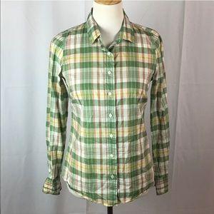 "J. Crew Tops - J. Crew ""the perfect shirt "" Plaid Button Down"