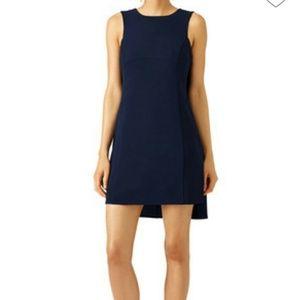 Trina Turk Dresses & Skirts - Trina Turk Navy Sedona Cape Dress size 12