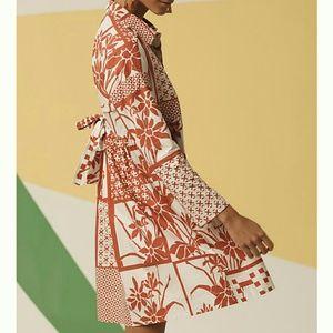 Printmaker Poplin Shirtdress