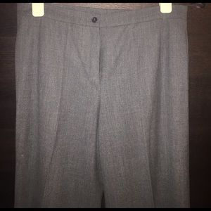 Luciano Barbera Pants - Luciano Barbera .Itl Size 50. Gray cashmere pants
