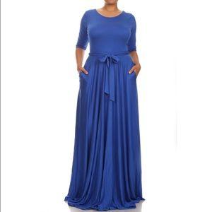 Dresses & Skirts - Emerald Blue Long Maxi 30% off Bundles!