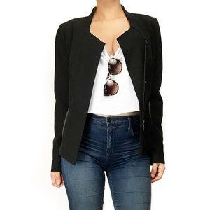 Nordstrom Jackets & Blazers - Nordstrom collection black asymmetrical jacket