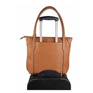 Lodis Handbags - NWOT Lodis Leather Travel Tote Bag - Tan