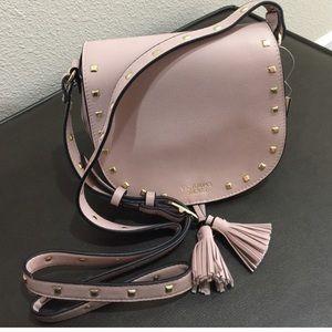 PINK Victoria's Secret Handbags - Victoria's Secret blush studded crossbody bag