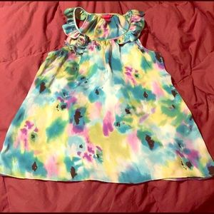 A beautiful multi color tank top by Sunny Leigh