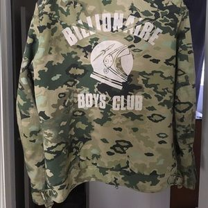 Billionaire Boys Club Other - Bbc wolfman biker jacket in camo
