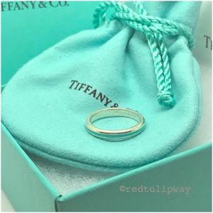 🌹SOLD🌹Auth. Tiffany & Co. Blue Enamel Ring