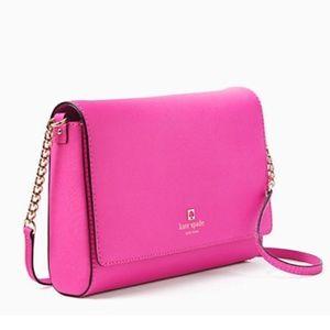 kate spade Handbags - ✨NWT✨ Kate Spade Pink Leather Crossbody Bag