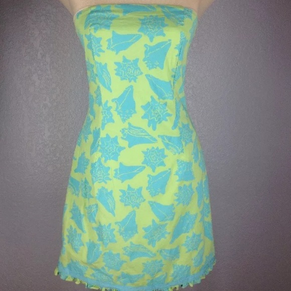 52c5f6ba92d598 Lilly Pulitzer Dresses | Moxie Guava Green Conched Out Dress | Poshmark
