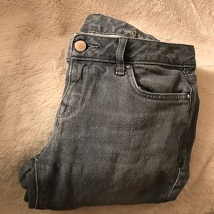 Gap always skinny jeans 27p gray