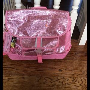 Bixbee Handbags - Girls pink glitter backpack NWT
