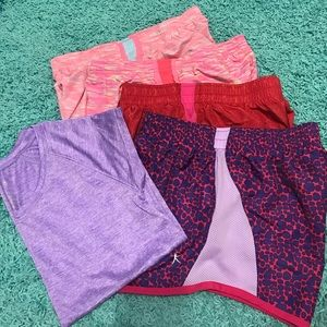 Other - Lot of girls shorts and one shirt