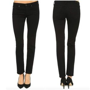 AG Adriano Goldschmied Denim - AG 'The Stilt' Cigarette Jeans in Black