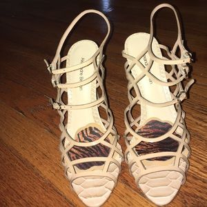 Alexandre Birman Shoes - Alexandre Birman nude caged heels! 💋