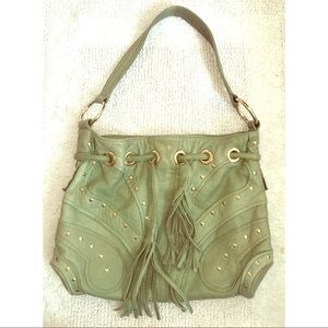 Bulga Handbags - Boho Seafoam Green Bulga Butterfly Bag