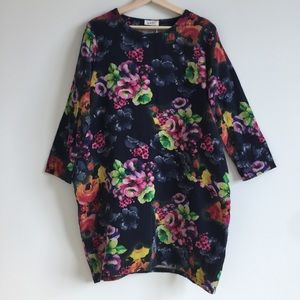 Dresses & Skirts - Floral Dress / Long Tee