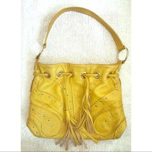 Bulga Handbags - Boho Yellow Bulga Butterfly Bag