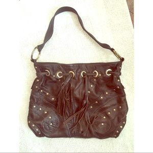 Bulga Handbags - Boho Chocolate Brown Bulga Butterfly Bag