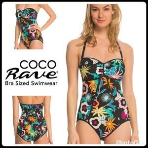 Coco Rave Other - JUST IN 🆕 KERRY WHIMSY FLOWER BANDEAU