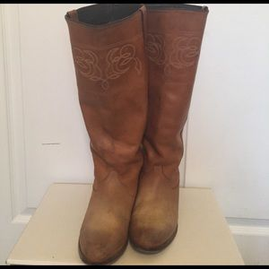 Golden Goose Shoes - Golden Goose Deluxe Brand high western boots 38