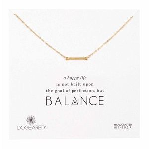 Dogeared Jewelry - Dogeared Sterling Silver Balance Necklace