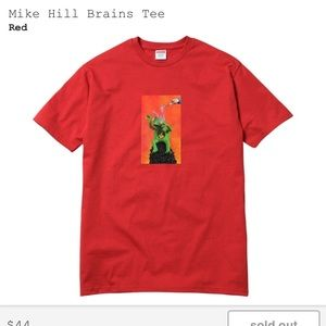 Supreme Mike Hill Brains tee