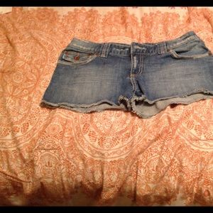 Billabong Denim Jean Shorts Size 5