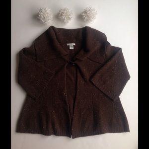 White + Warren Sweaters - White + Warren Cashmere Cropped Swing Sweater