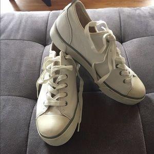 37cdc5a68ba UGG Shoes | Leather Platform Sneakers | Poshmark