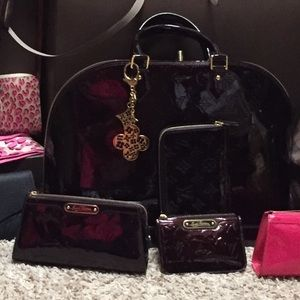authentic Louis Vuitton Vernis amarnate set